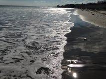 Sparkling waves Stock Photo
