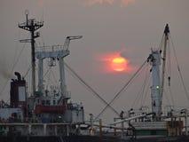 Sun in ship Stock Photos