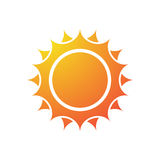 Sun silhouette Stock Images