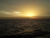 Sun sitzen im Roten Meer Stockfoto