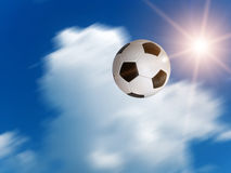 Sun  sky   ball Royalty Free Stock Images