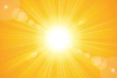Sun Sky Stock Image