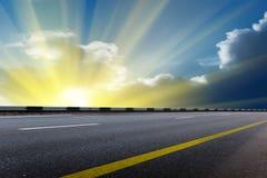 Sun Sky Clouds Sunrise Stock Image
