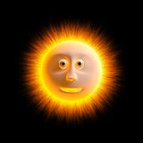 Sun is smile. Royalty Free Stock Photography
