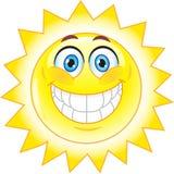 Sun, Smile. Symbol. Stock Image