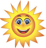 Sun, Smiley. Symbol. Stock Photos