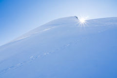 Sun and snow Royalty Free Stock Photos