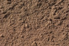 Sun soaked sand with different sizes of sand grains. Sun soaked sand with different sizes of grains. Some are really tiny and some are lumped together to make Royalty Free Stock Photos
