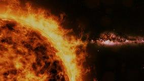 Sun - solar flare