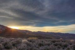 Sun solitario Fotografía de archivo libre de regalías