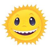 Sun sonriente Fotografía de archivo