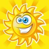 Sun sorridente Fotografie Stock Libere da Diritti