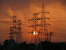Sun the source of all energy. India is putting  in  massive investment in Power genration & Distribution  of electrical Energy.It is high time that we migrate to Royalty Free Stock Photo