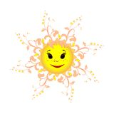 Sun is the source of life on earth. Royalty Free Stock Photography