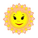 Sun is the source of life on earth. Royalty Free Stock Photos