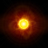 Sun & Space Royalty Free Stock Photo