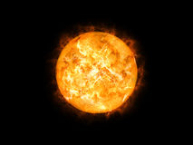 Sun in space. An image of a cool sun in space Stock Images