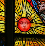 Sun - Stained Glass Stock Photos