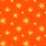Sun stars el fondo inconsútil Fotos de archivo