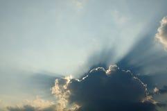 Sun-Strahl Lizenzfreies Stockfoto