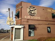 Sun Studio Building Royalty Free Stock Images