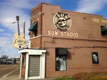 Sun-Studio-Gebäude Lizenzfreie Stockbilder