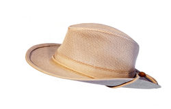 Sun summer hat isolated Royalty Free Stock Images