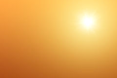 Sun in Sky Royalty Free Stock Photography