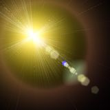 Sun and Sun rays Royalty Free Stock Images
