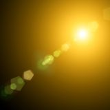 Sun and Sun rays Royalty Free Stock Image