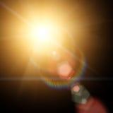 Sun and Sun rays Stock Photography