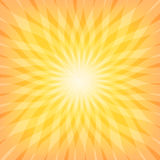 Sun Sunburst Pattern Stock Photography