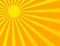 Sun Sunburst Pattern Stock Photos