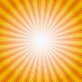 Sun Sunburst Pattern. Vector illustration Stock Images