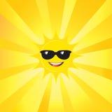 Sun and Sunburst Royalty Free Stock Photo