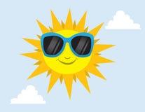 Sun Sunglasses Royalty Free Stock Image