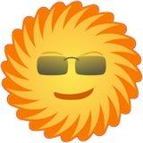 Sun, Sunglasses, Smiling, Yellow Royalty Free Stock Photo