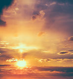 Sun, sunset, sunrise Royalty Free Stock Image