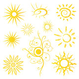 Sun, sunshine, summer Royalty Free Stock Images