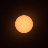 Sun sunspot-6. Sun with sunspot at 4 o`clock Stock Image