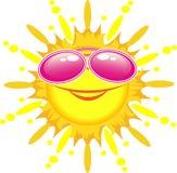Sun super Imagens de Stock Royalty Free