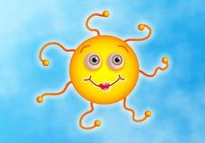 Sun sveglio Immagini Stock