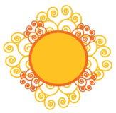 Sun Swirl Royalty Free Stock Photos