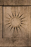 Sun Symbol Royalty Free Stock Image