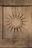 Sun-Symbol Lizenzfreies Stockbild