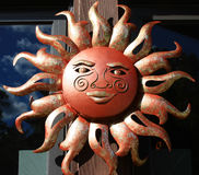 Sun Symbol at Duke Garden Royalty Free Stock Image