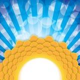 Sun symbol illustration Stock Photos