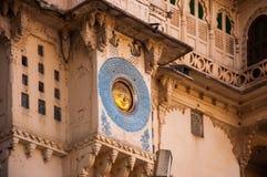 The Sun Symbol at Udaipur City Palace Stock Photos