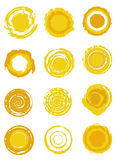 Sun symbols Stock Photography
