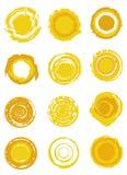 Sun Symbols Stock Photography